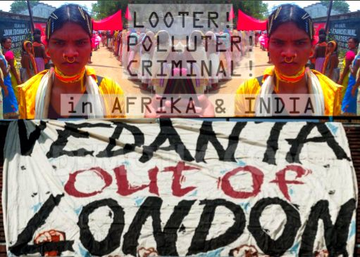 Global Day of action against Vedanta : Press Release by Foil Vedanta