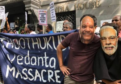 London Protest Condemn Thoothukudi Vedanta Massacre: Demand action in India and UK
