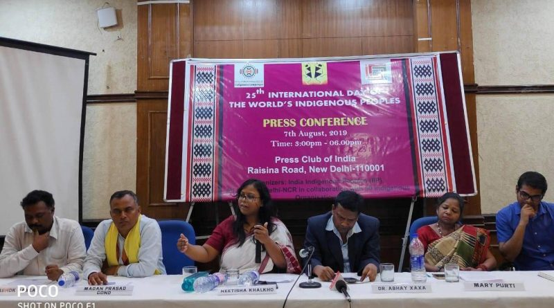 Ahead of World Indigenous Day, Tribal-Adivasi organizations reassert their constitutional rights